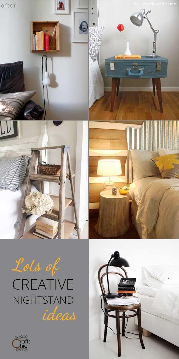 creative nightstands