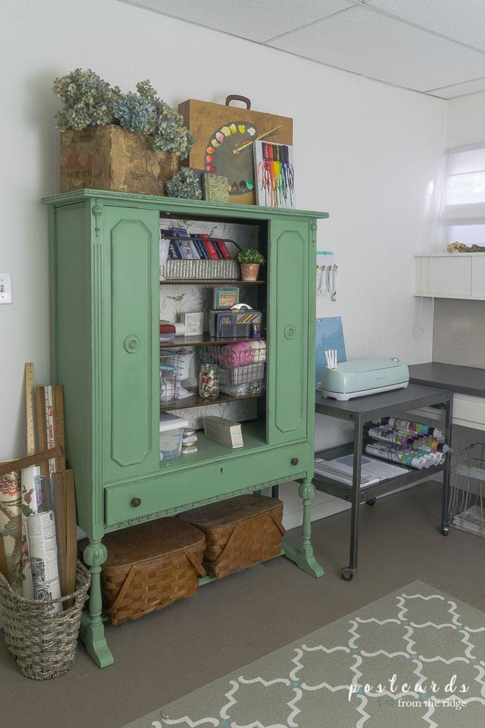 china cabinet craft storage