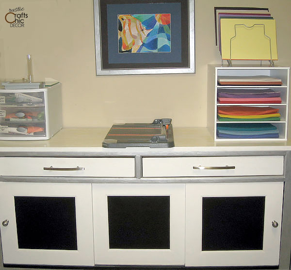 credenza craft room storage