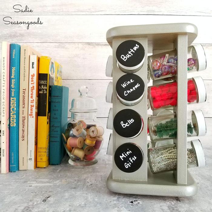 spice rack craft storage