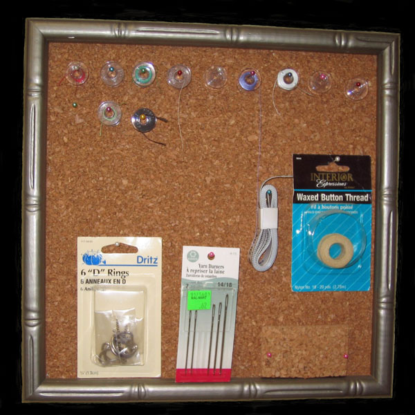 sewing room storage solution