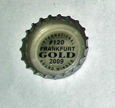 bottle cap for center of metal flower