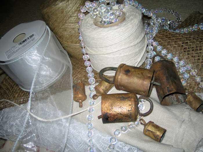 rag garland supplies