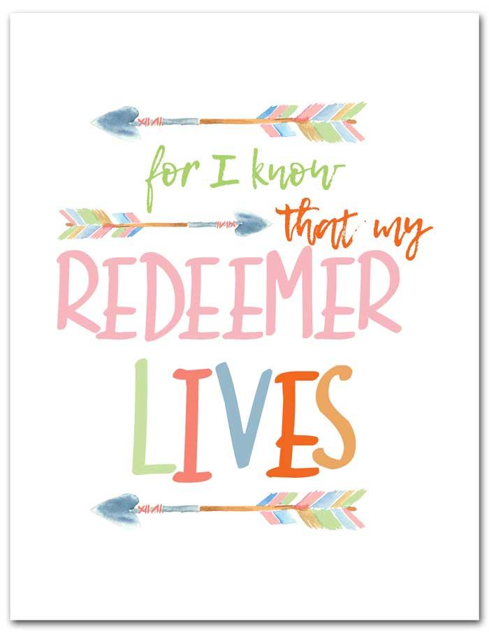 watercolor scripture print