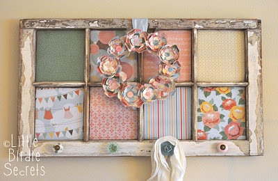 Decorating With Old Windows - Rustic Crafts & Chic Decor