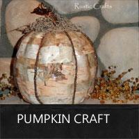 pumpkin craft by rustic-crafts.com