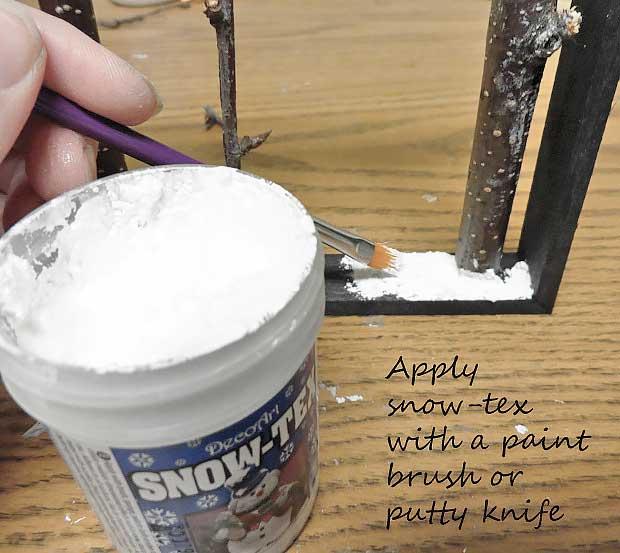 apply snow tex