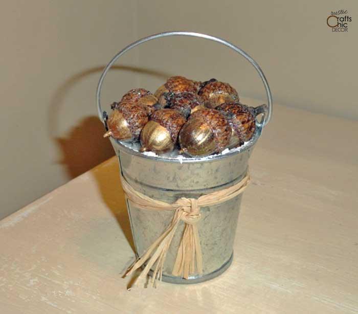 acorn christmas ornaments
