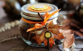 what to do with mason jars - nuts