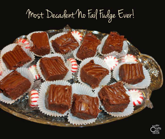 christmas treats recipes for fudge