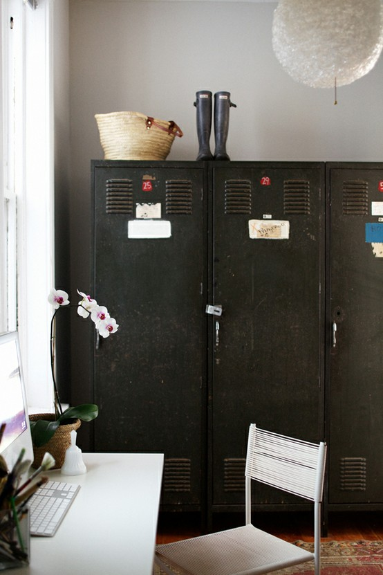 painted lockers