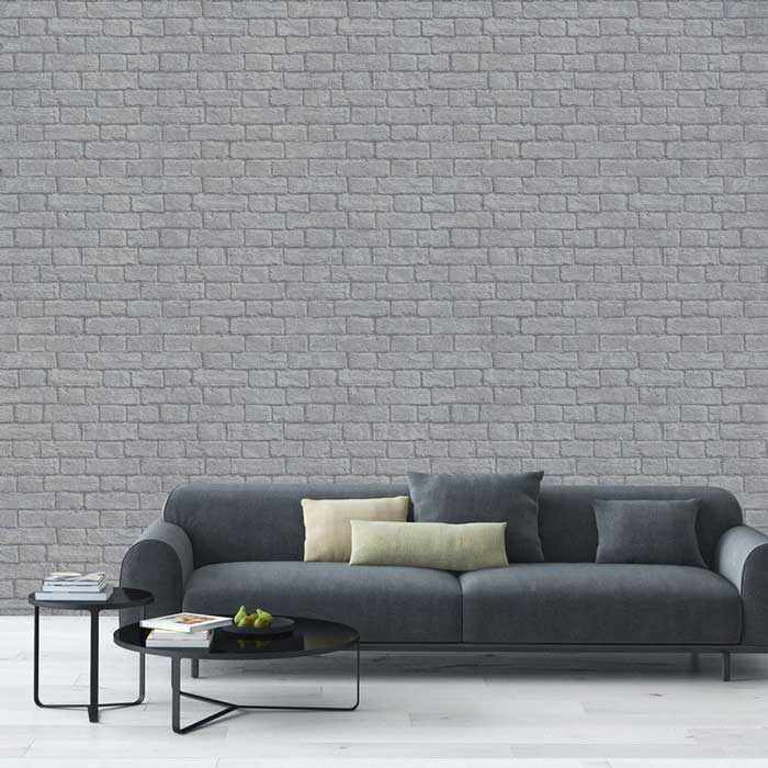 exposed brick look wallpaper