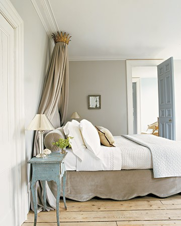 soothing taupe gray bedroom