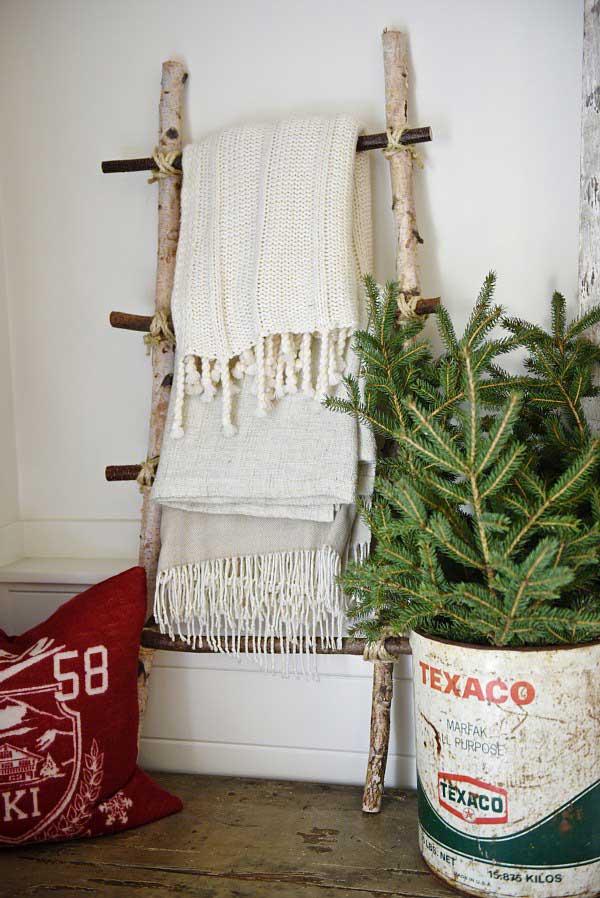 rustic birch crafts