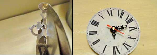 diy clock assembly