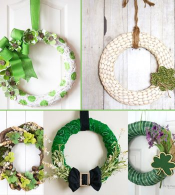 diy st patricks day wreaths