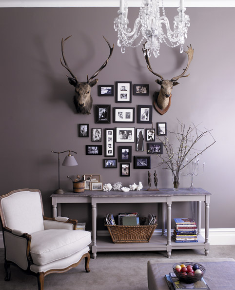 warm gray walls
