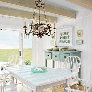 shabby chic kitchen lighting
