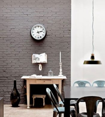 rustic gray rooms