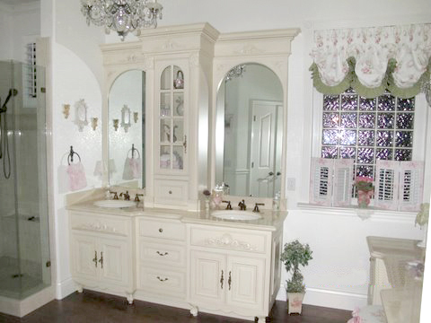 terrific shabby chic bathroom ideas | Five Unique Shabby Chic Bathrooms To Inspire You - Rustic ...