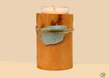 beach craft candle