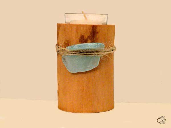 beach craft candle