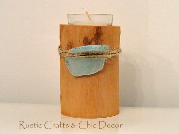 sea-glass-candle-holder