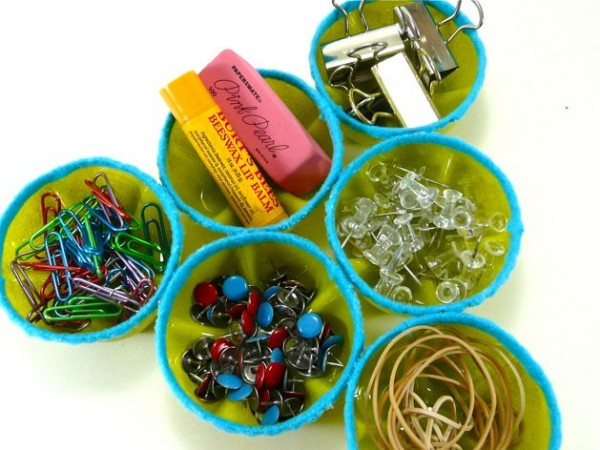 water bottle craft supplies organizer