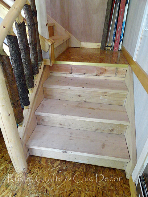 how to paint and stain stairs