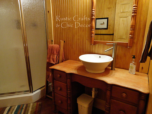 Cabin Bathroom Decor Rustic Crafts Chic Decor