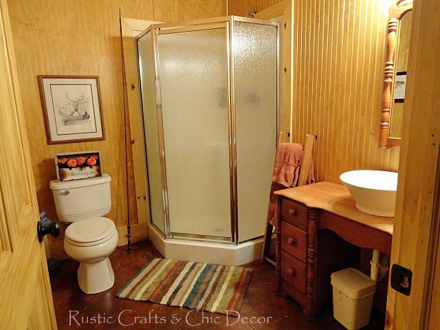Rustic Cabin Bathroom Ideas Design Corral