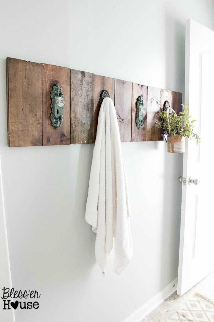 door knob hook rack