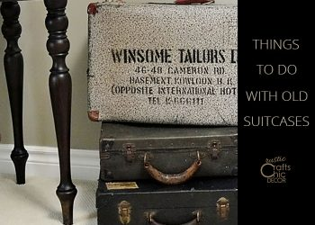 things to do with old suitcases