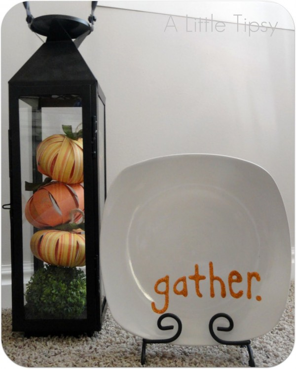 thanksgiving craft - gather plate