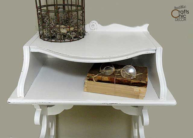 telephone desk makeover
