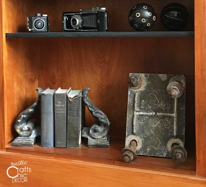 industrial footing form as home decor