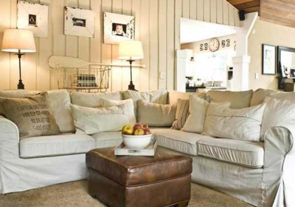 shabby-chic-living room