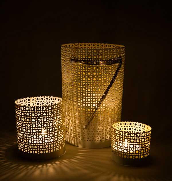 radiator sheet lanterns