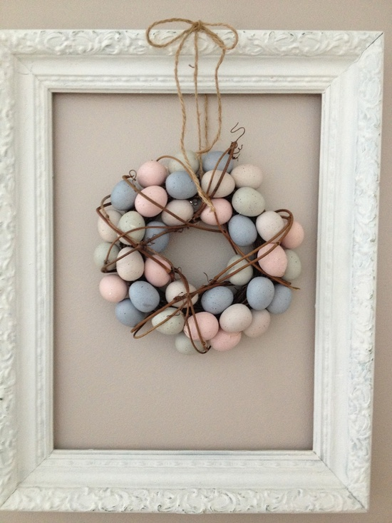 shabby chic spring decor