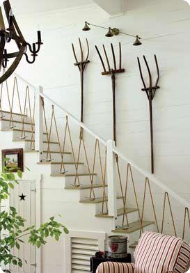 pitch fork wall art