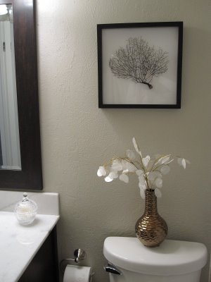 painting in shades of gray - taupe gray