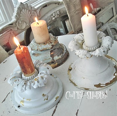 light fixture candle holders