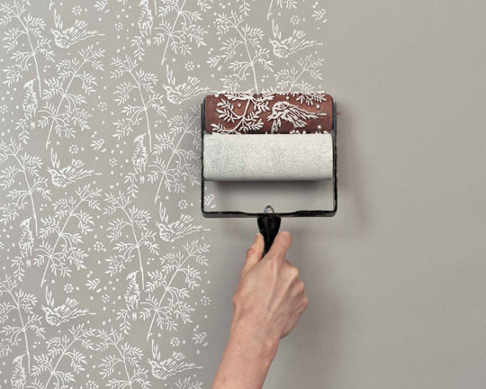 embossed paint roller