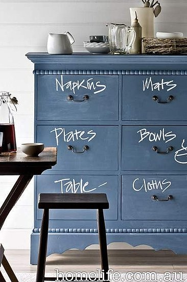 what to do with chalkboard paint