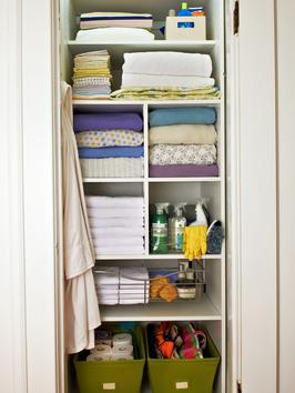 diy closet organization - add cubbies