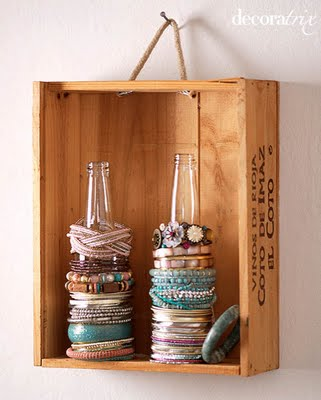 what to do with crates - hanging crate storage