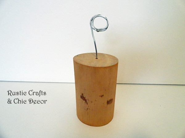diy photo holder by rustic-crafts.com