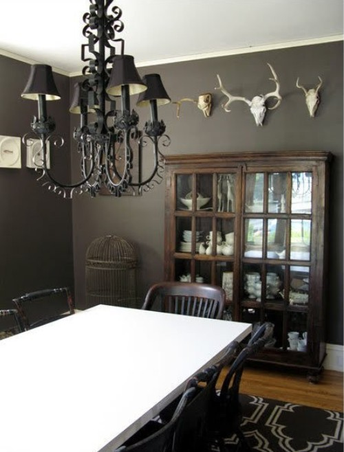 warming a room with rustic paint colors rustic crafts chic decor. Black Bedroom Furniture Sets. Home Design Ideas