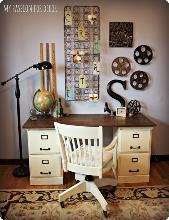 knock off pottery barn desk