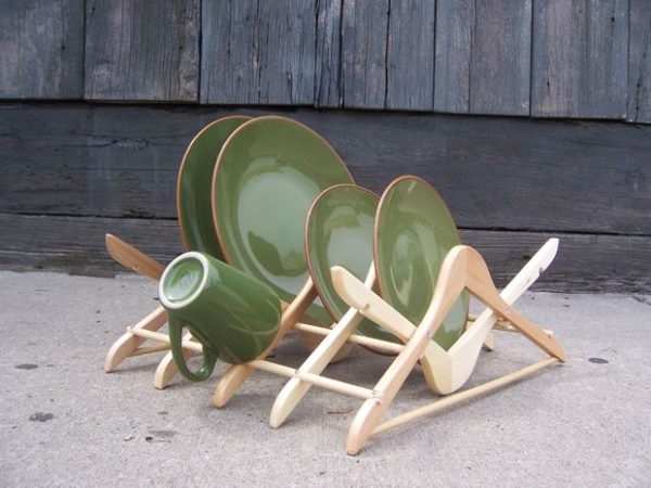 wooden hanger crafts